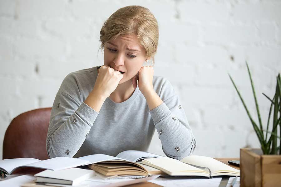 Úzkosť a strach zo skúšky